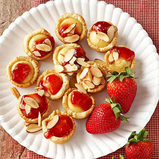 strawberry tartlets