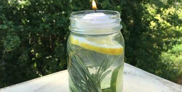 mosquito repellant jar