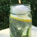 mosquito repellant jar